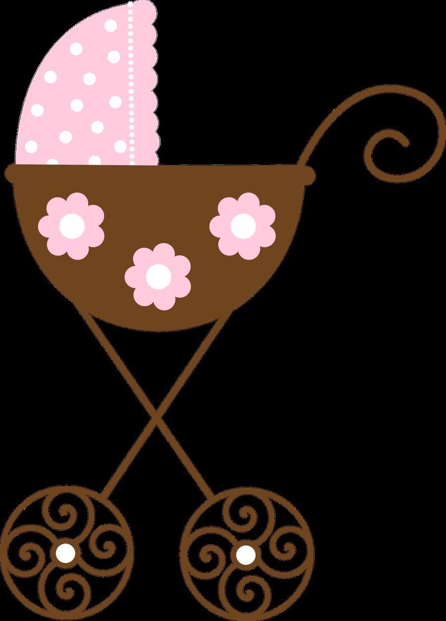 Beb menino e menina. Nursery clipart cradle