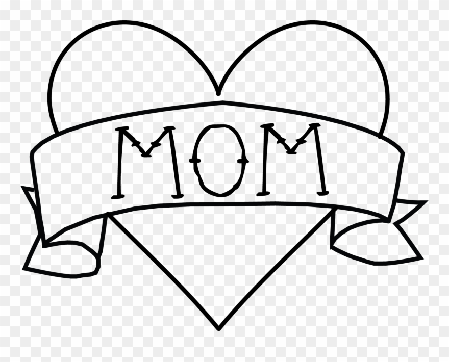 Mom clipart banner. Tattoo png royalty free