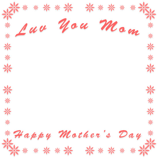 Clipart mom border. Mother s day borders
