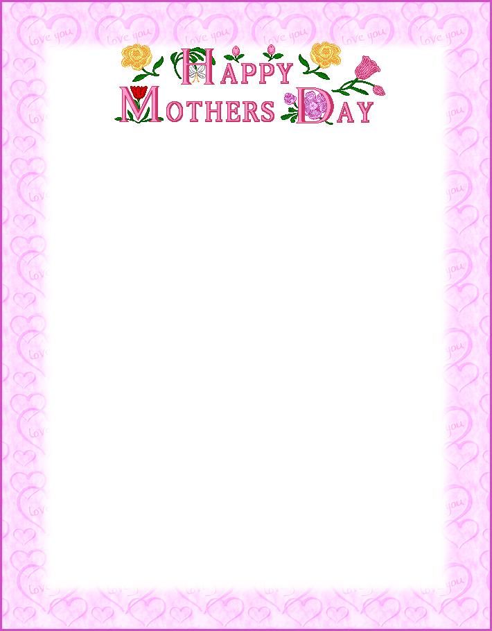 Clipart mom border. Cliparts zone
