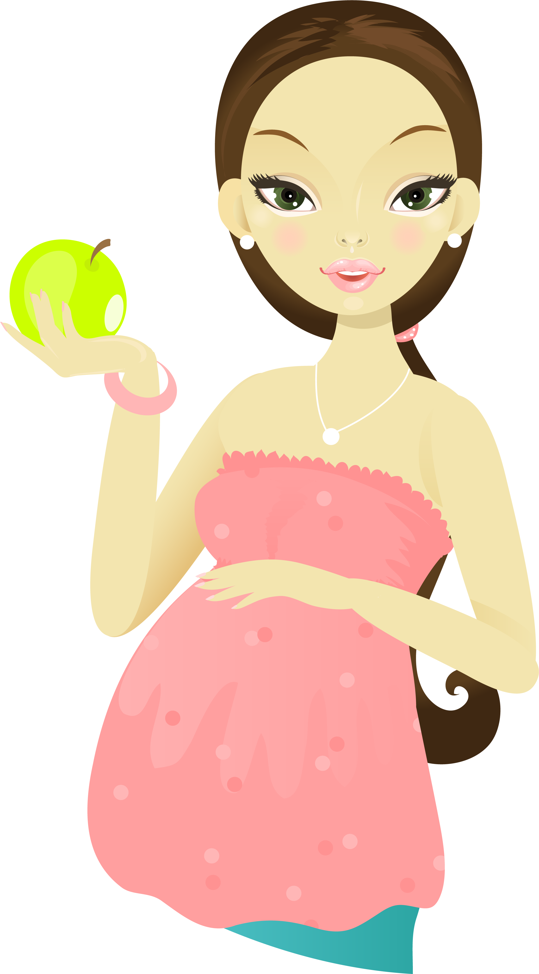Pregnancy cartoon woman holding. Mother clipart pregnant lady