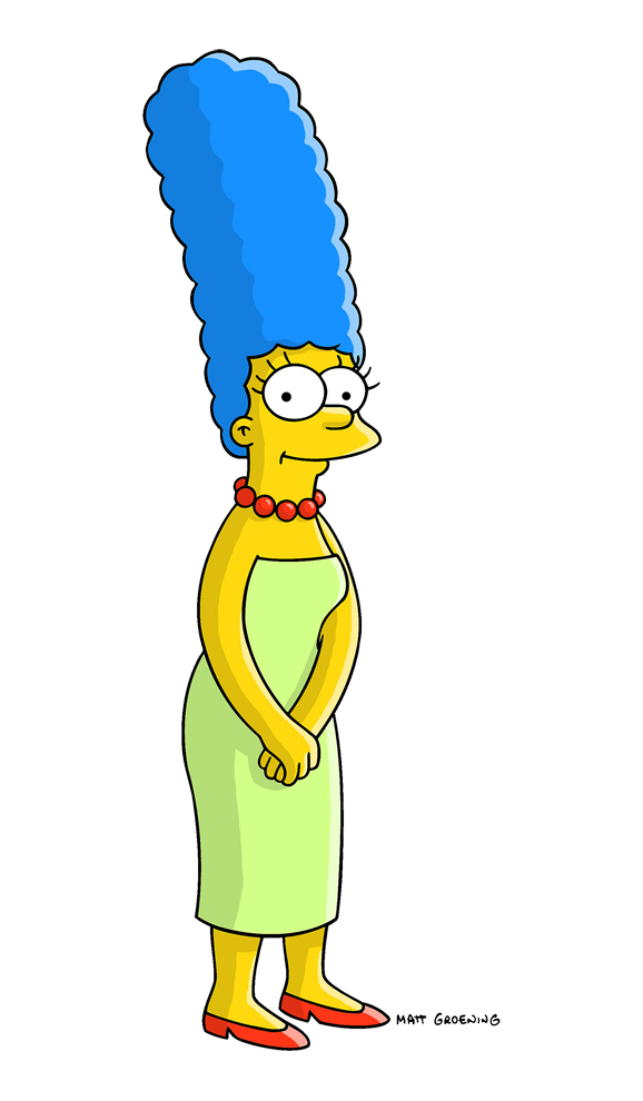 Background marge simpson free. Clipart mom character