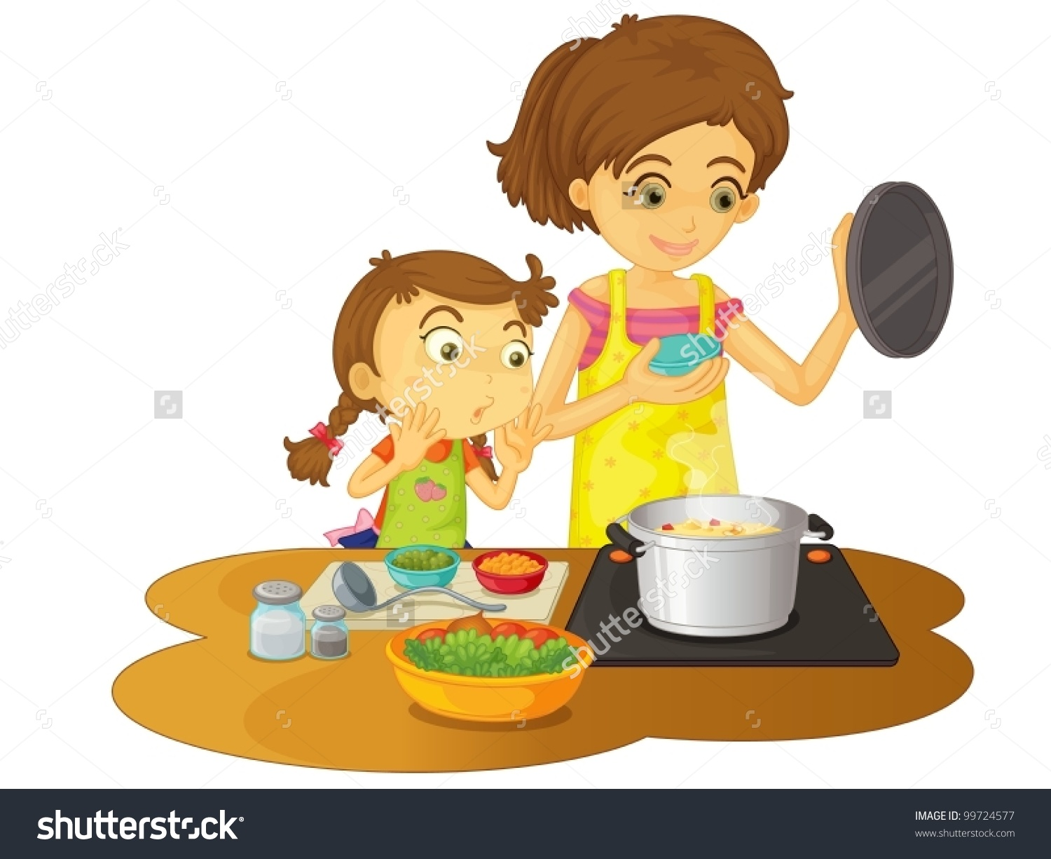 Cooking clipart motherr. Mother station