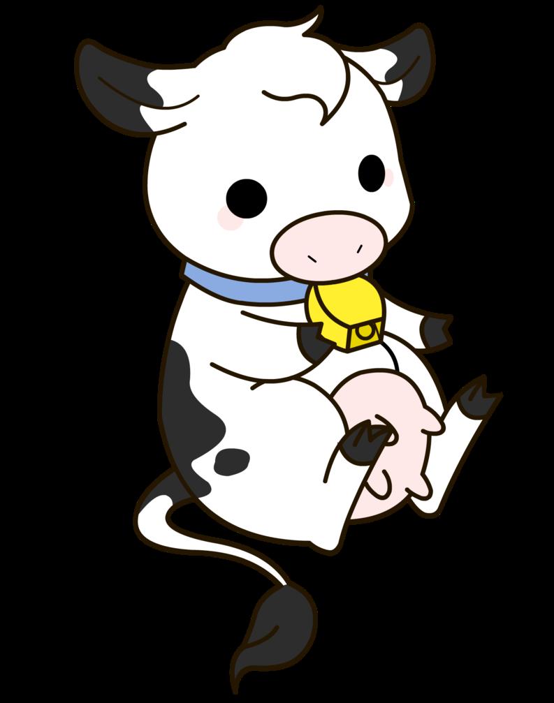 Clipart cow kawaii. Baby drawing at getdrawings