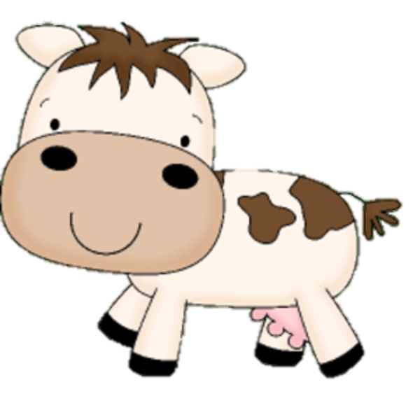 Clipart mom cow. The barefoot chorister are