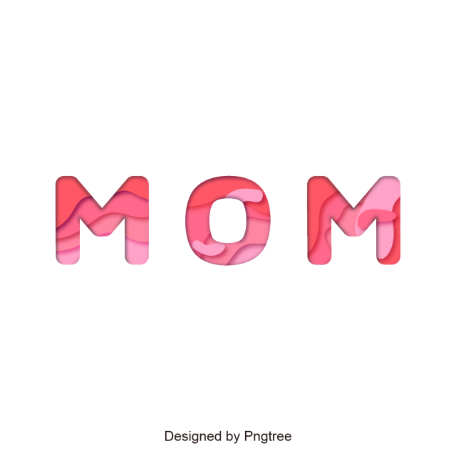 Clipart mom font. Mother design happy mothers
