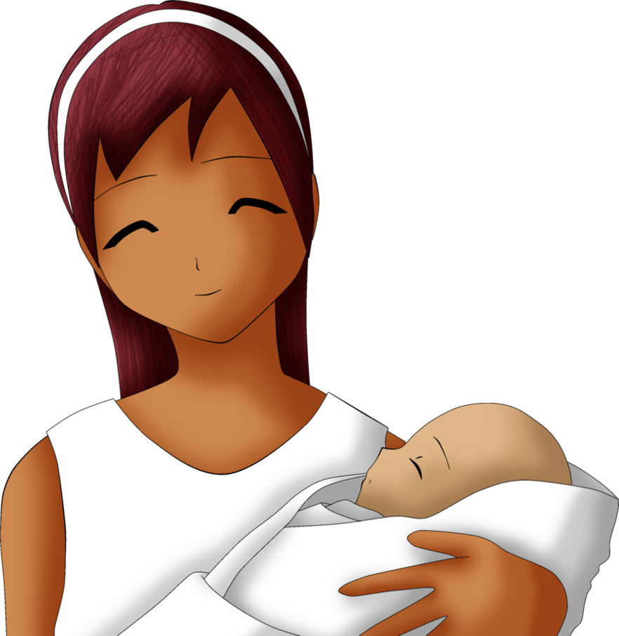 Frustrated clipart frustrated mom. Mother and child by