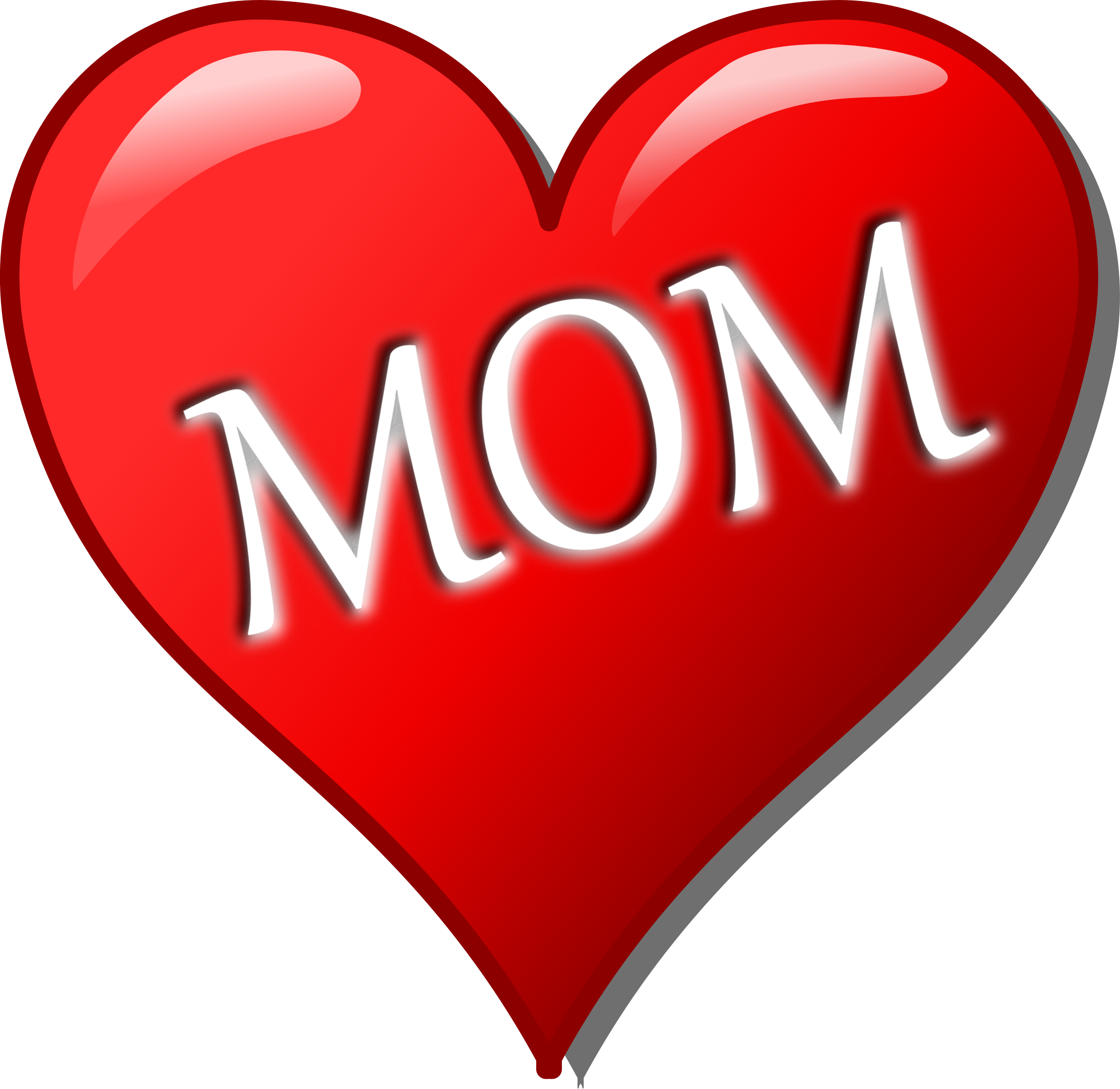 Clipart mom heart. Mother s day big