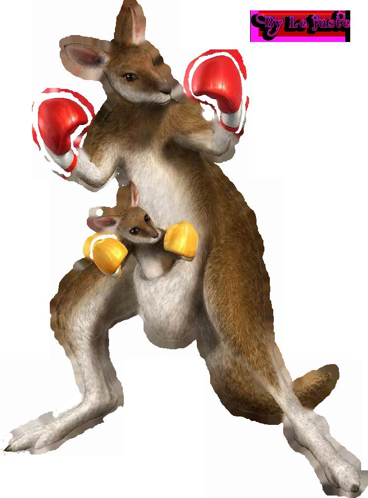 Kangaroo clipart fat cartoon. Tekken dr roger jr
