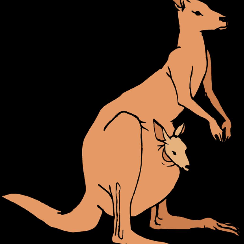 Clipart mom kangaroo. Santa hatenylo com panda