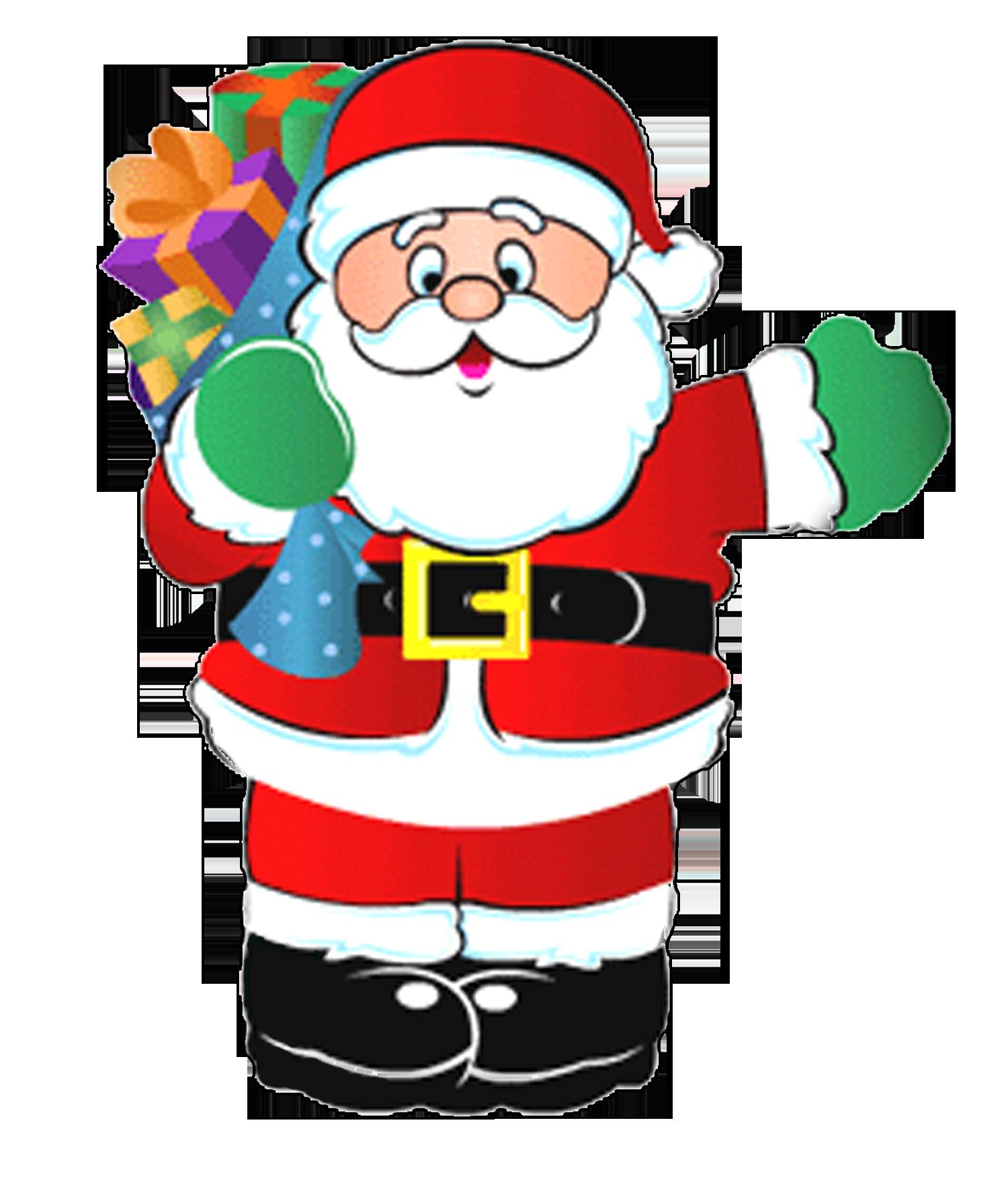 Clipart mom merry christmas. Creative x on santa