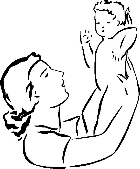 clipart mom parent