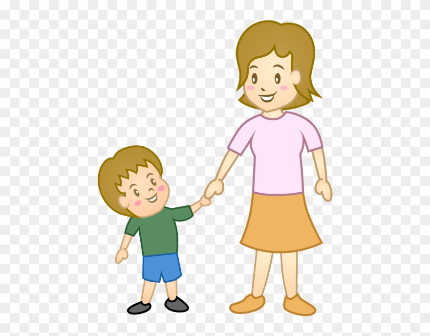 Child and mother png. Clipart mom parent
