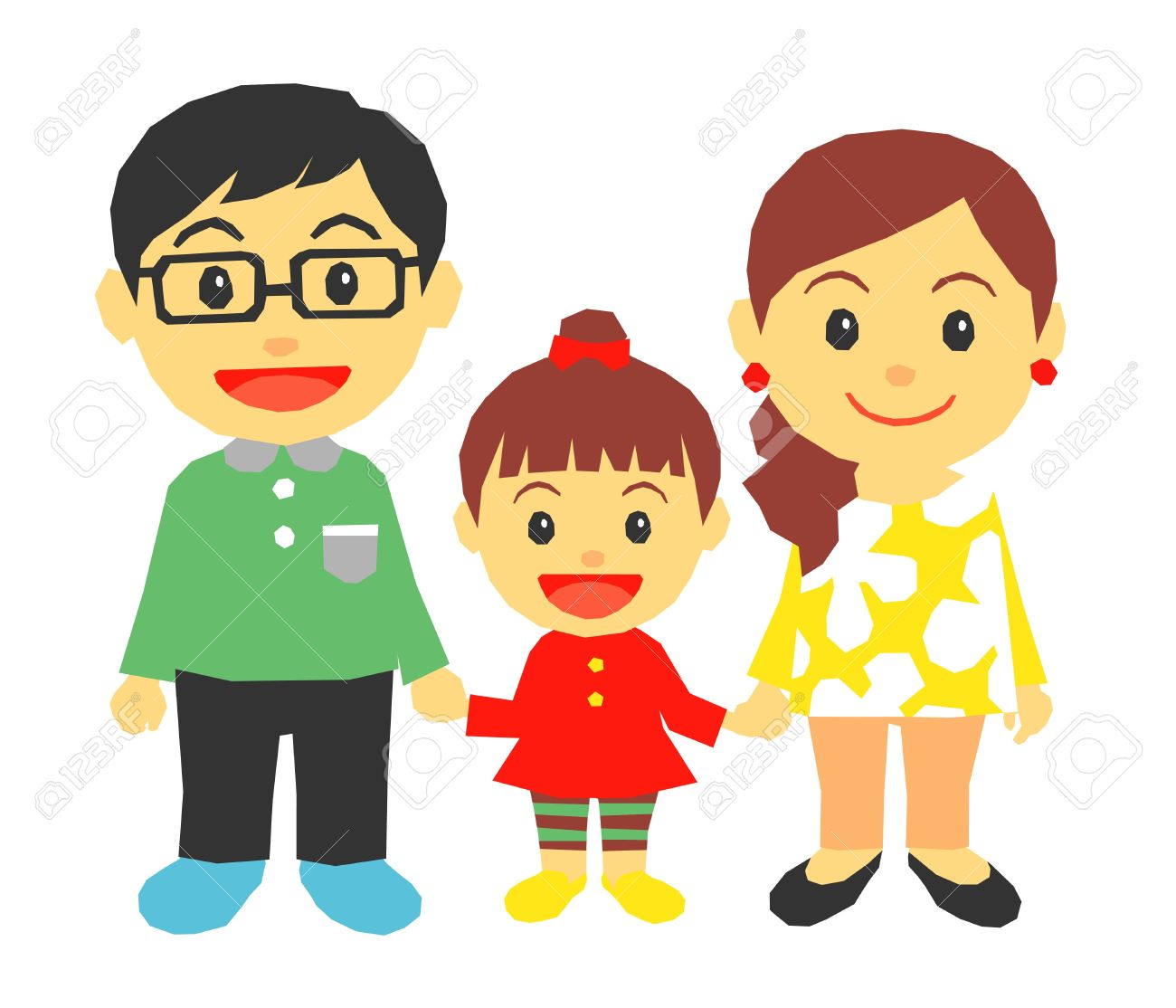 Clipart mom parent. Mother and father free