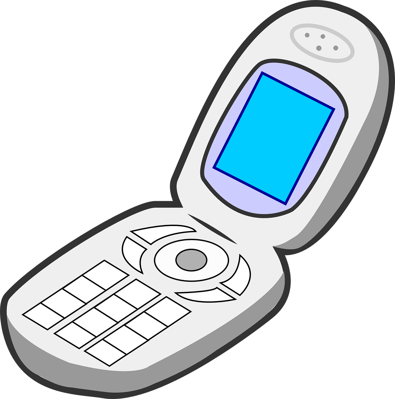 Flip phones for the. Telephone clipart teliphone