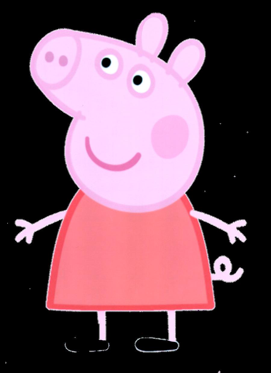 Pig clipart six. Peppa minus pinterest