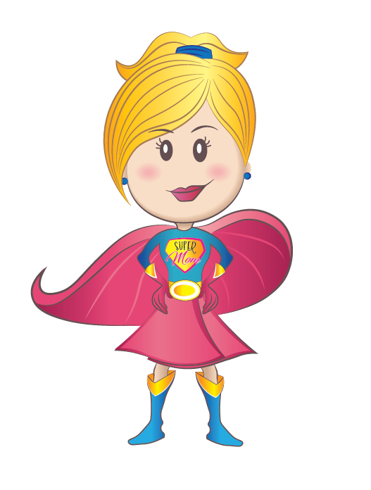 Clipart mom super mom.  collection of png