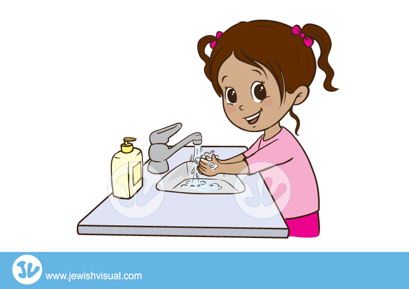 Clipart mom washing. Hands step vector png