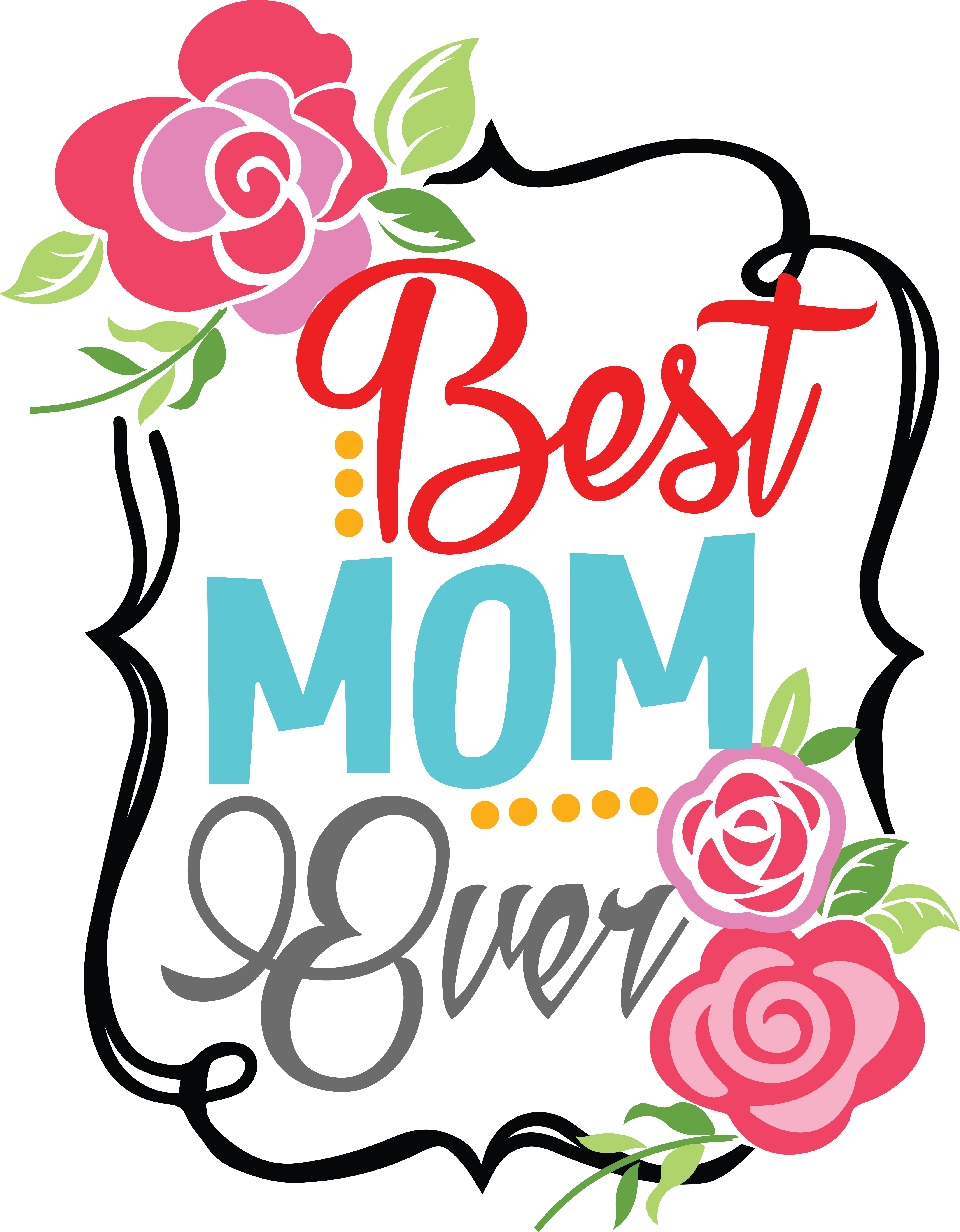 Best ever at getdrawings. Clipart mom word