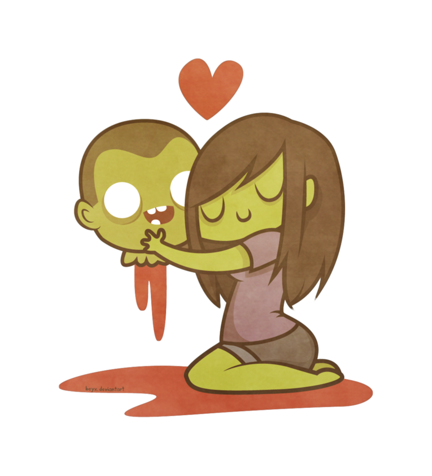 Zombie clipart toon. Cute zombies pinterest drawings