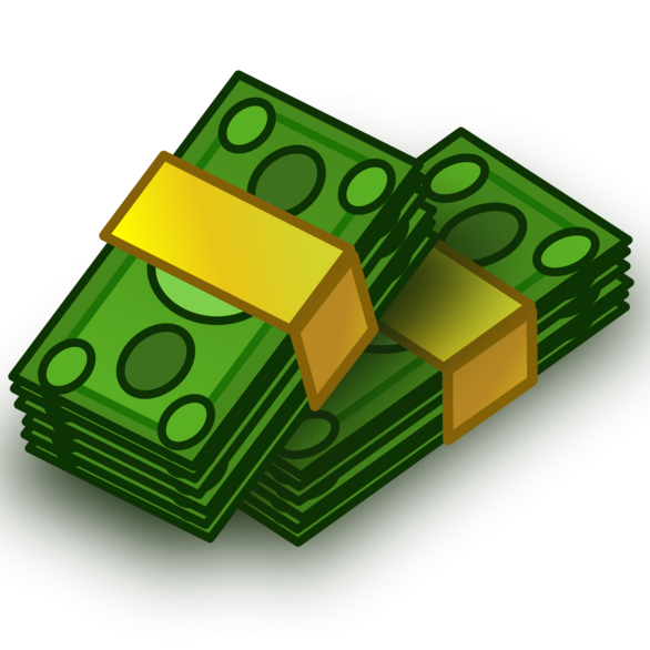 Computer clipart money. Bag cartoon clip art