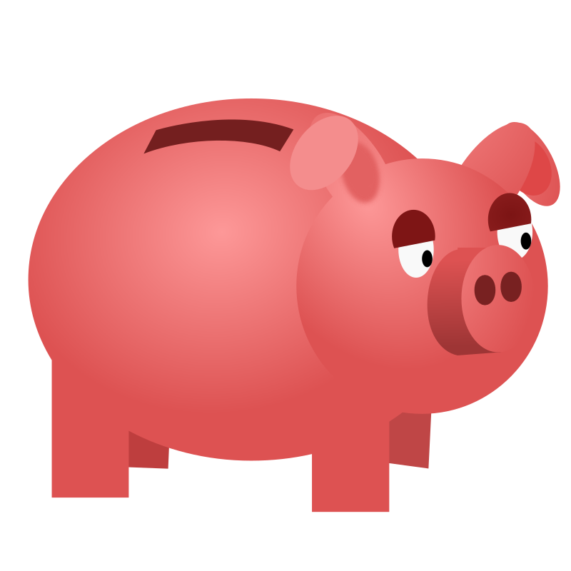 Images of bank savings. Money clipart banking