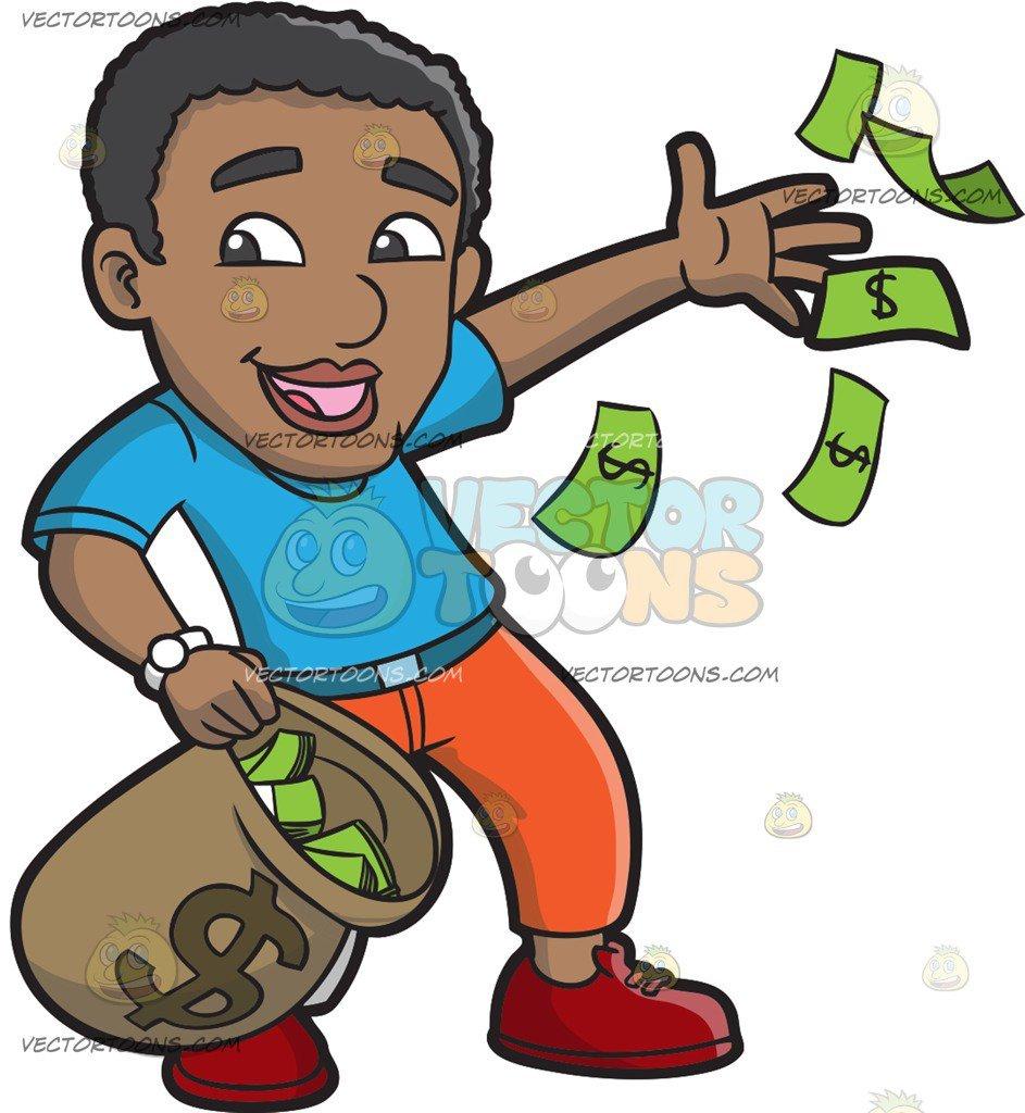 With portal . Clipart money boy