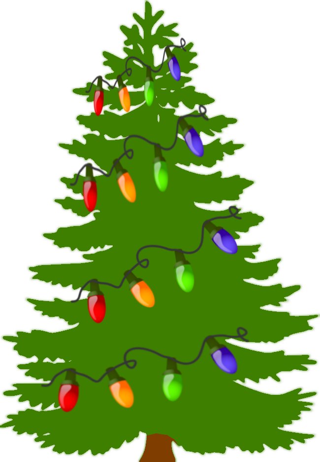 Costume clipart christmas tree.  collection of lights