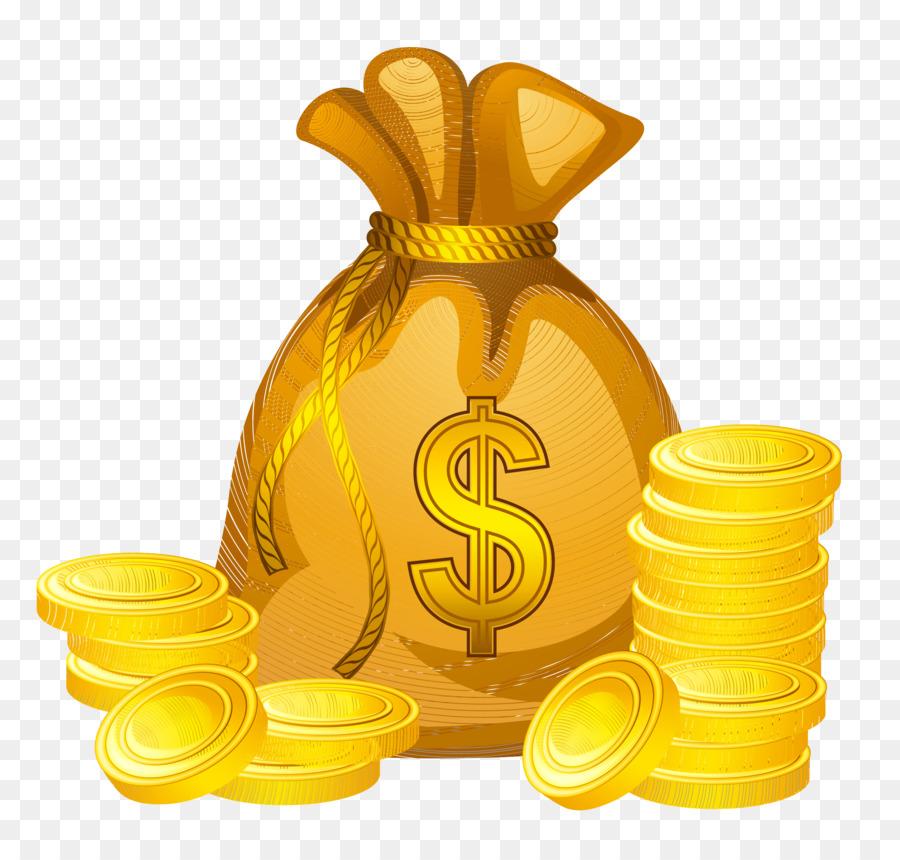 Gold food transparent clip. Clipart money coin
