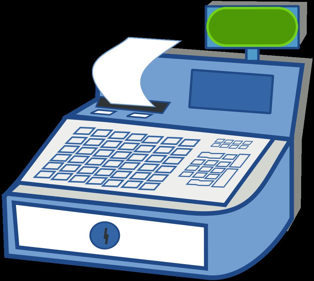 Computer clipart money. File cashregister svg wikimedia