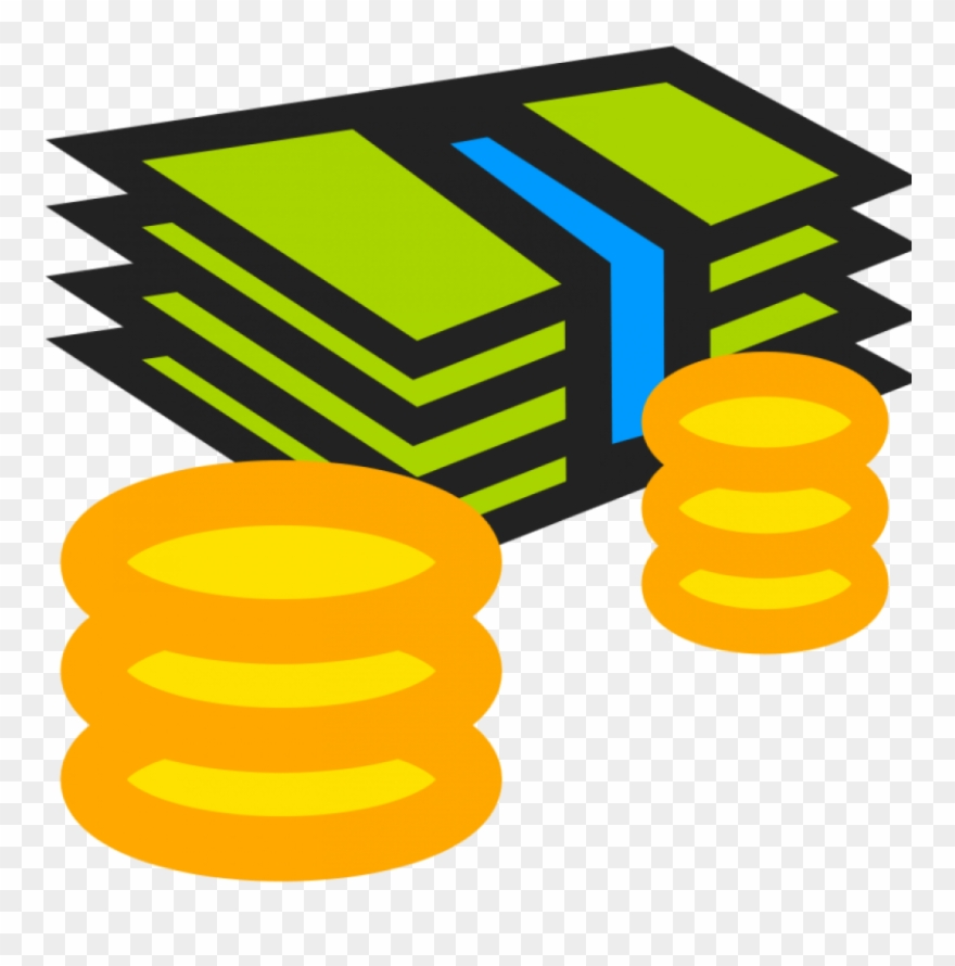 As minimum wage png. Clipart money debt