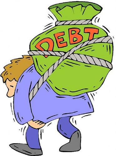 Free cliparts download clip. Clipart money debt