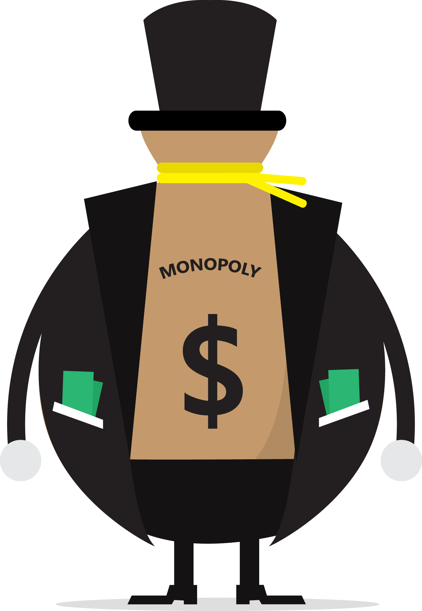 collection of monopoly. Economics clipart high cost