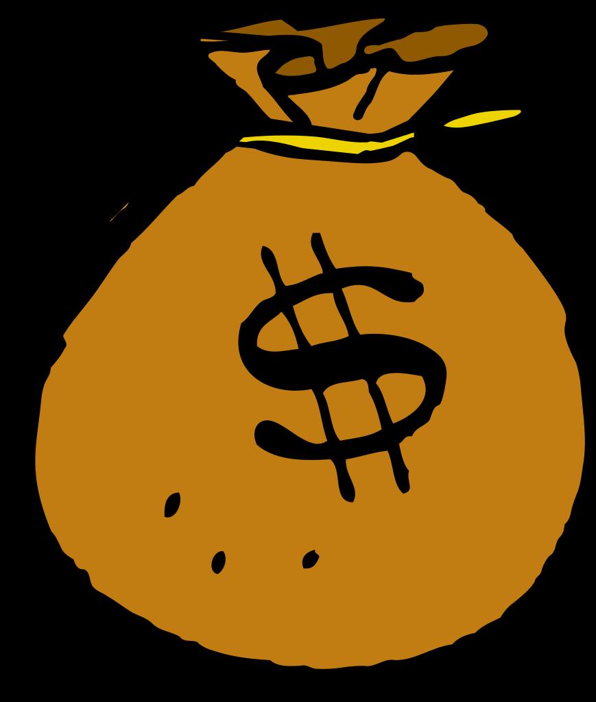 Money clipart english. File mcol bag svg