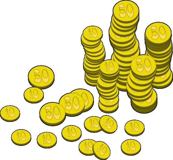 Coins clipart english. Money clip art at