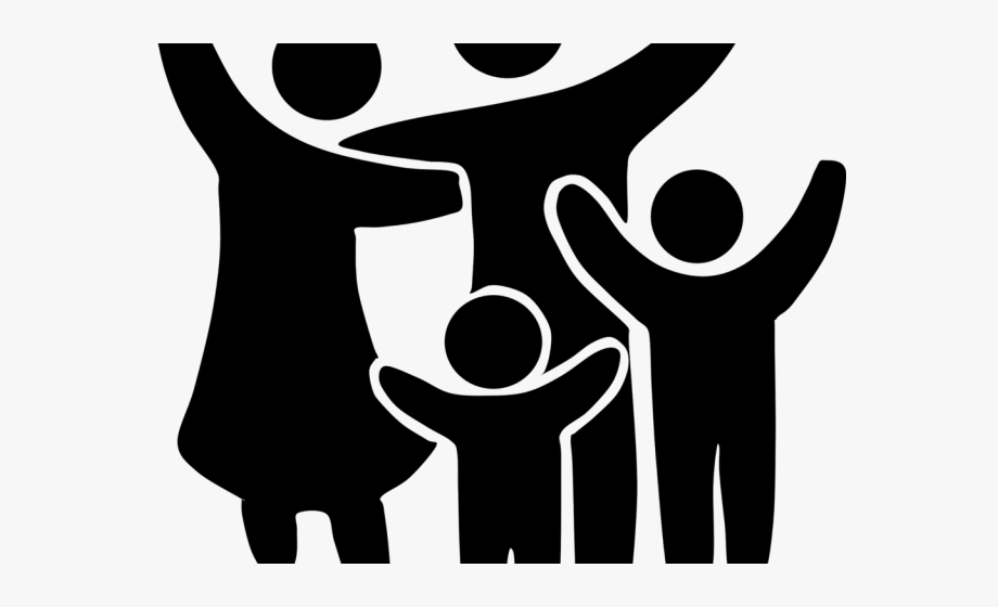 No background . Clipart money family