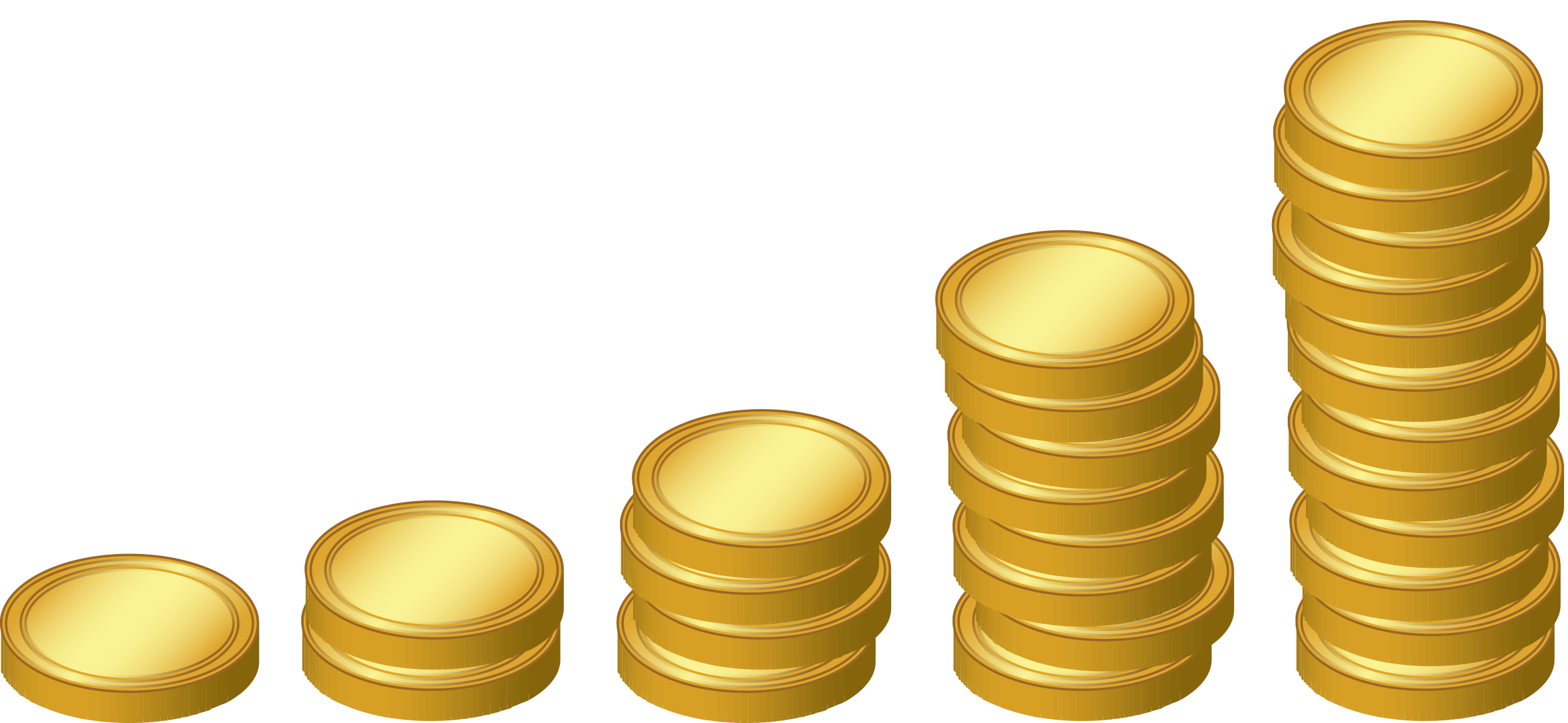 coin finances huge. Newspaper clipart interest