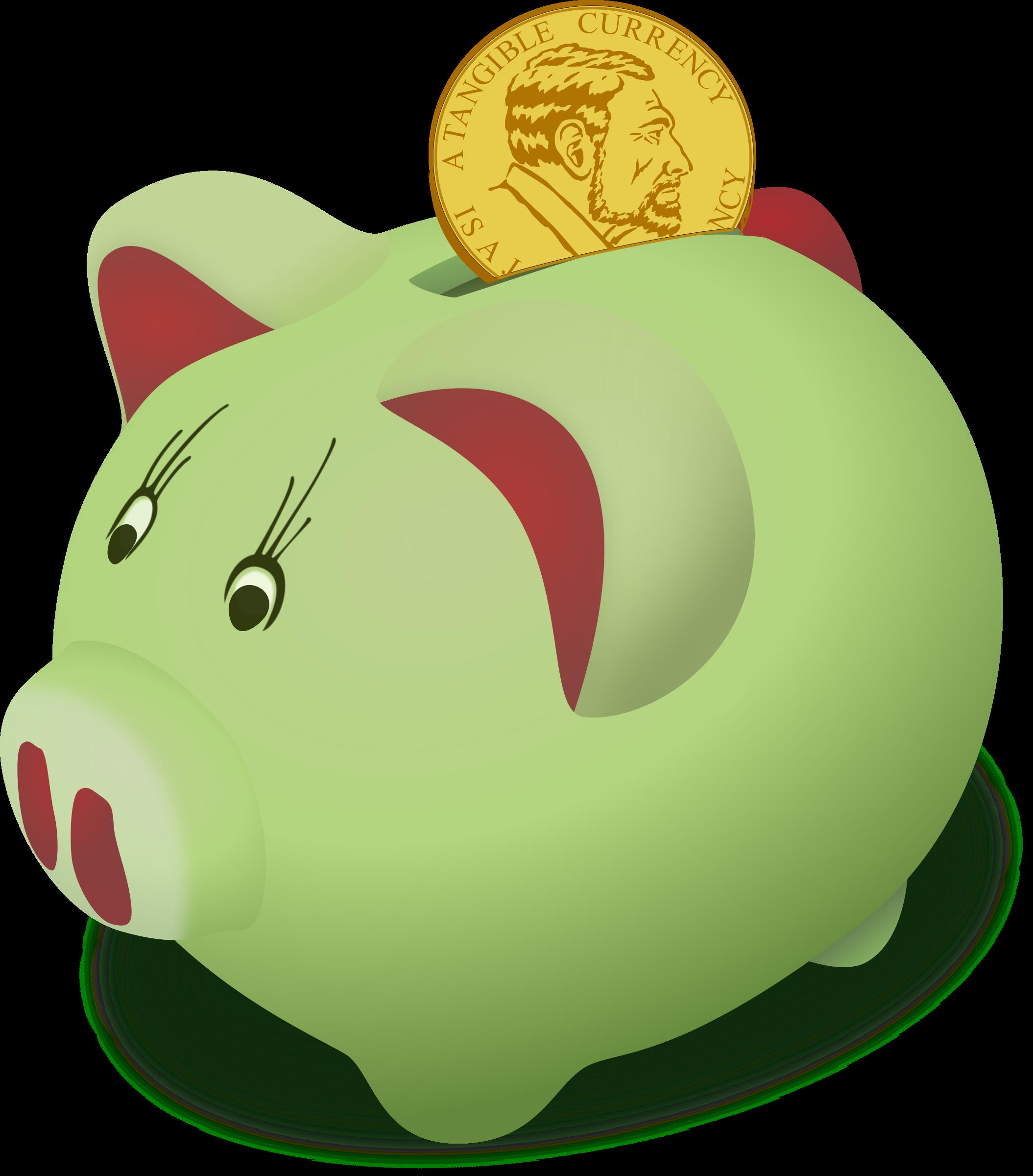 Clipart money finances. Saving up big image