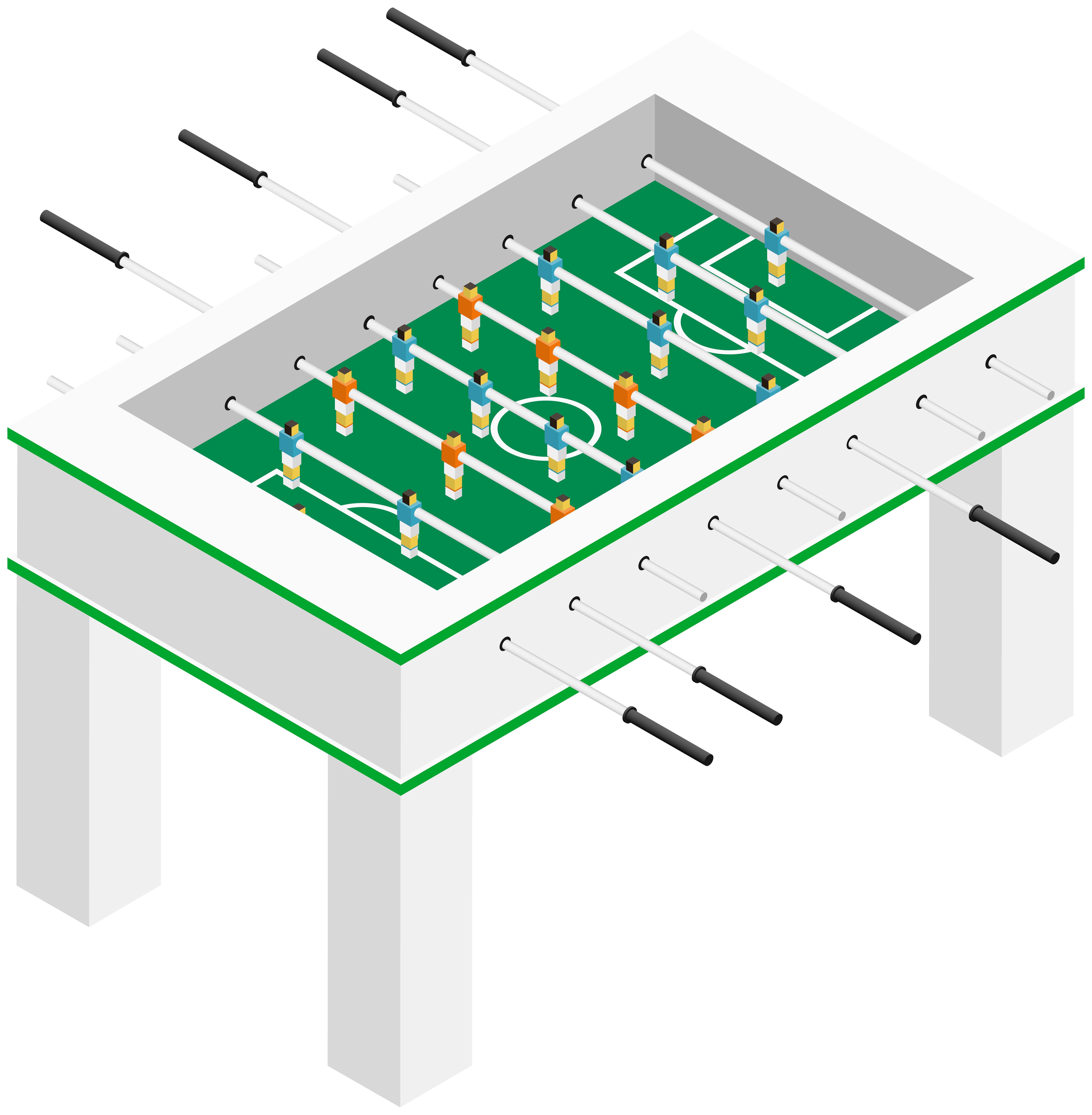 Table football png clip. Game clipart outdoor game