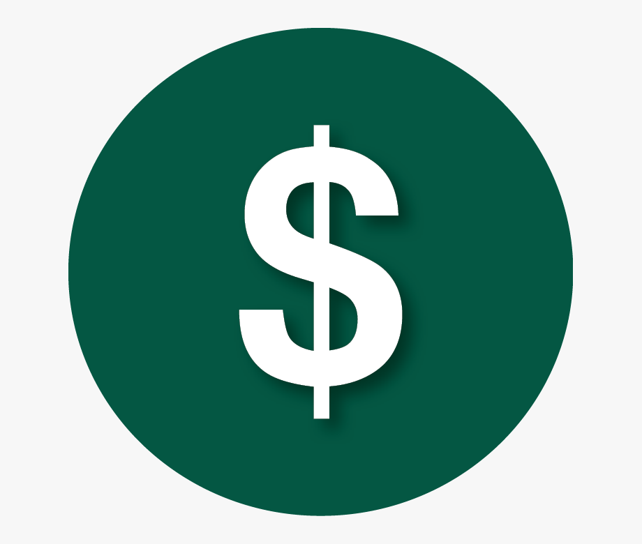 Money clipart green. Dollar signs png round