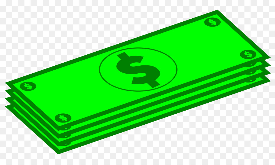 Cartoon technology . Money clipart green