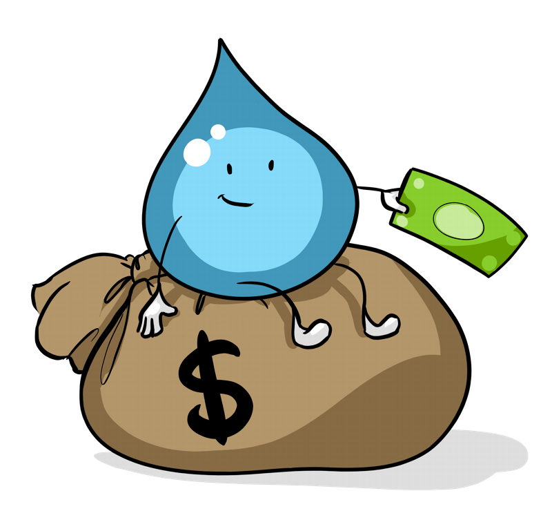Financing your float center. Clipart money investment