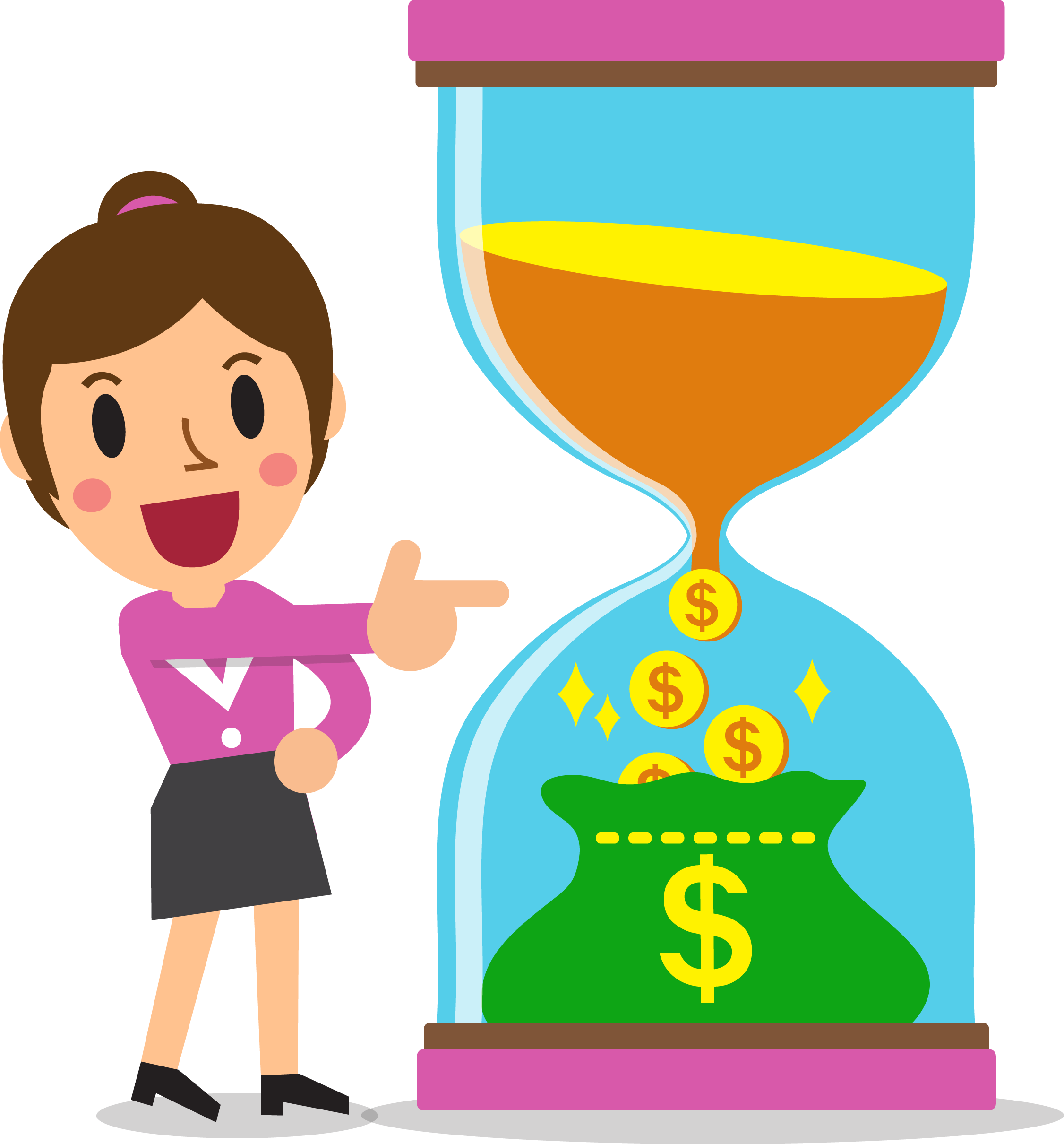Financial clipart savings.  mistakes to avoid