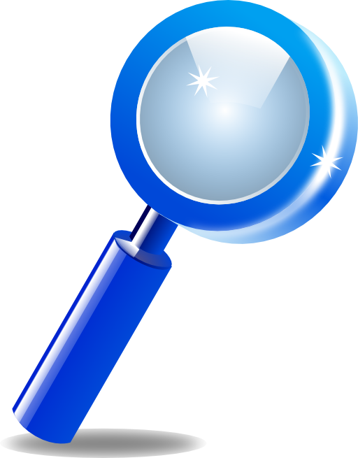 Mystery clipart magnifier. Search zoom i royalty