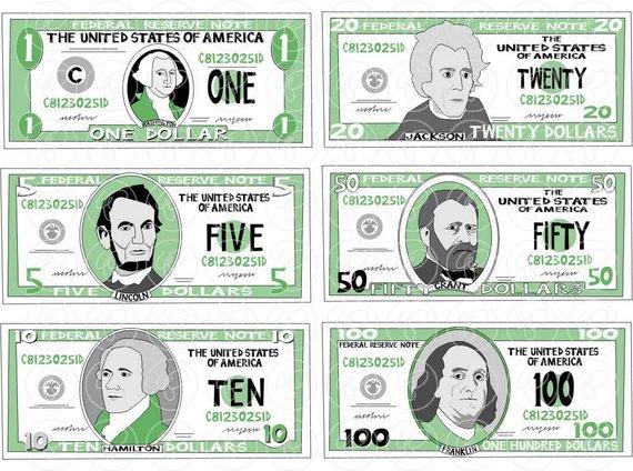 Set dpi school teacher. Clipart money math