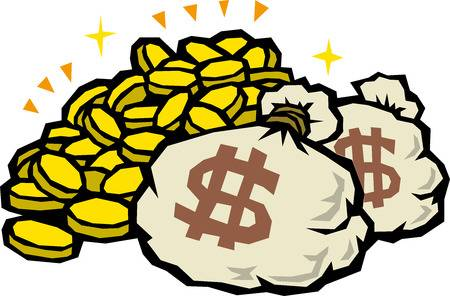X free clip art. Money clipart mountain