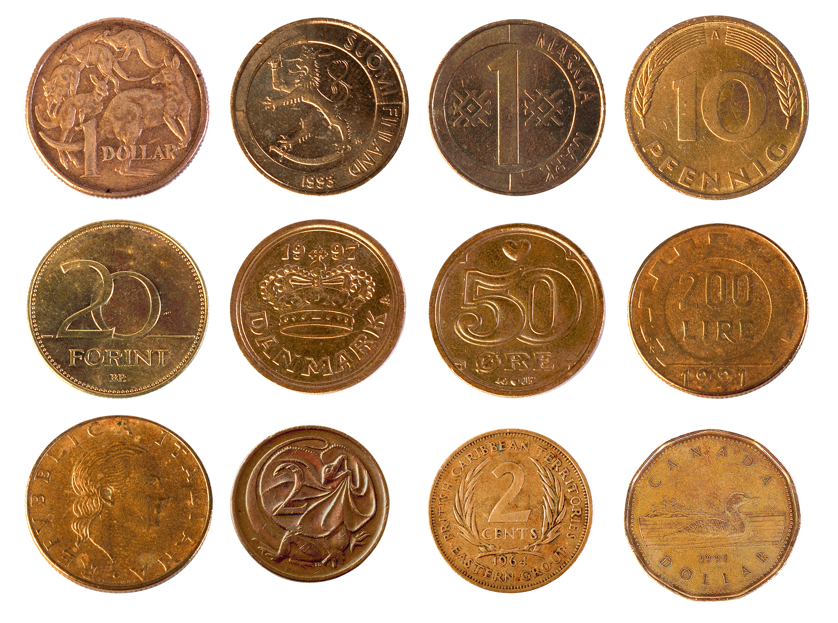 Money png image free. Coin clipart falling