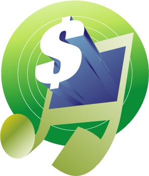 And . Music clipart money