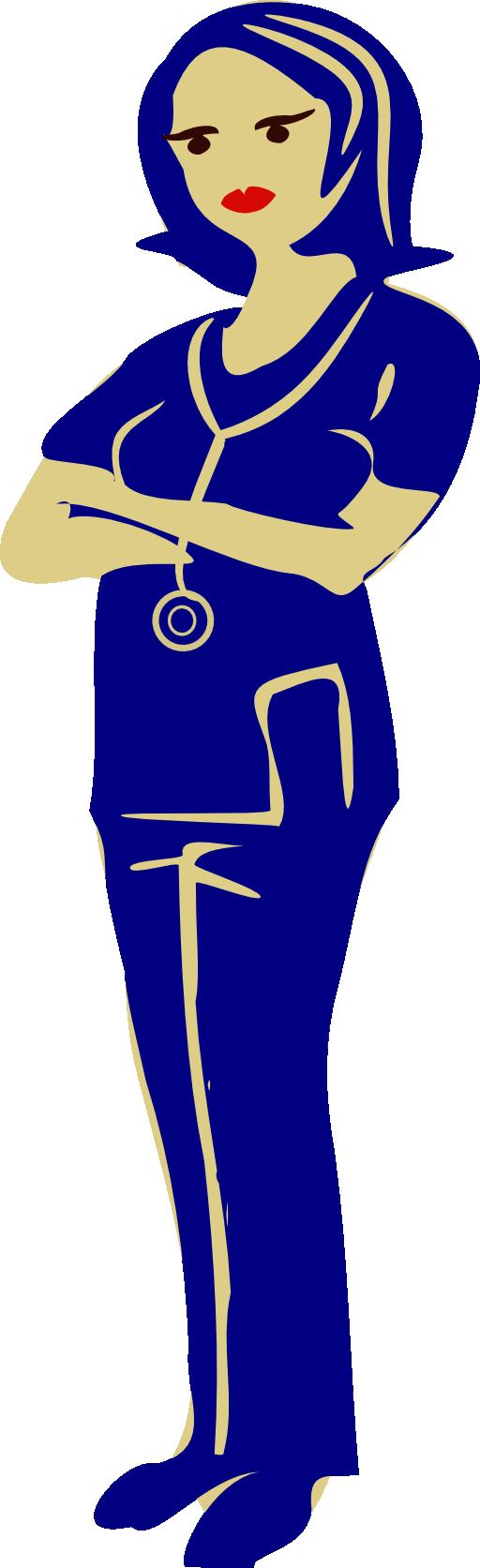 Nursing clipart nursing diagnosis. Clinical nurse i royalty