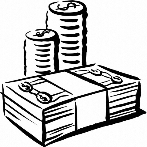 Clipart money outline. Download image of indian